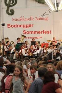 Sommerfest Blasmusikwettbewerb